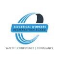 Electrical registration board logo